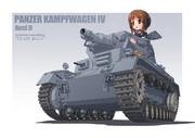 Ⅳ号戦車 D型