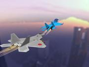 F-22vsSu-30夕方の死闘・・・