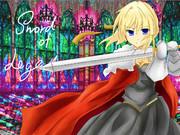 少女騎士。