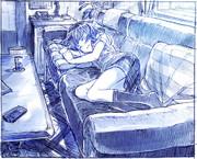 「ちょっと横になるかぁ・・・」→寝落ち