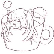 ミクちゃん【線画】