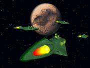 冥王星とガミラス艦隊