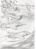 [がんばれ自衛隊]F-35J、ちょっとコンビニいってくる
