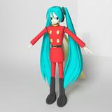 【MMD】0039 RE:VOCALOID 超銀河伝説 ~神々との闘い編~ 主人公モデルテスト