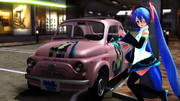 【MMD】Fiat in カモメ町【おんだ式】