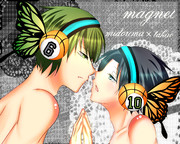 【注意】緑高 magnet リク