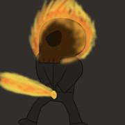 豪快な放火