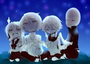 【ゆっくりたちの鎮魂歌】 星空