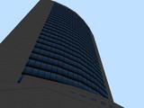 【RailSim】 ビルを見上げてみた