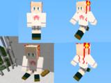 【Minecraft】神北小毬【スキン全体像】