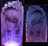 【ガラス彫り】水銀燈【グラスリッツェン】