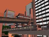 【RailSim】 夕暮れの都会