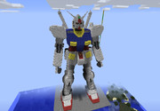 【minecraft】RX-78-2 ガンダム カトキバージョン