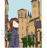古城と彼女