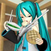 【MMD】メロンパンとにくまんと