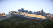 大ヒトラント帝国海軍所属 正規空母