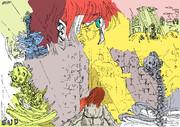 謎の骸骨と遭遇した赤毛の考古学者