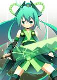 ビビッド緑