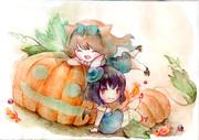 おかしなかぼちゃ