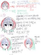 個人的顔の描き方Act2