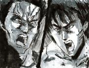ラオウ VS ケンシロウ (6)