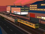 【RailSim】 夕暮れの工業地帯(修正版)