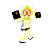 【マイクラ】白い魔法使い【サンプル】