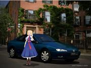 アリスの車はきっとおしゃれなフランス車(上げなおし)