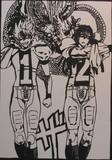 【切り絵】アイシールド21【神漫画】