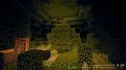 ラピュタ百景【11枚目】 巨大な飛行石と共に