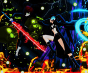 ブラック★ロックシューター : 伝説の始まり