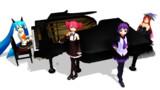 pmx化グランドピアノ【MMDモデル配布】