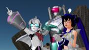 ばね式直球表題ロボットアニメ