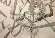 楠 幸村を描こうかと思ったんです!
