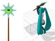ミグミグ族の杖