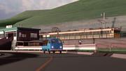 朝の田舎駅