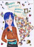 如月千早さん、お誕生日おめでとう!
