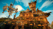 【Minecraft】防衛せよ!城塞都市を築く 第5幕 『水殿』ベストショット2