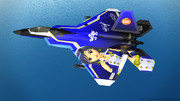 【MMD】如月千早仕様_痛戦闘機「F-22 Raptor」