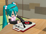 【MMD】レコードプレーヤー【アクセサリ配布】