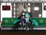 【第10回MMD杯Ex】その19 n式ミクと美少女女教師魔法戦士