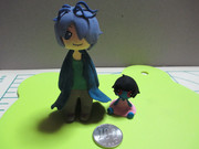 『ギャリーさんと青い人形』粘土で作ってみた。