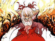 炎と化した妹紅