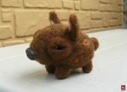 【羊毛フェルト】鹿モドキ