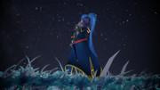 星空と騎士