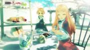 【MMD】レア様とお茶会