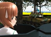 【MMD】4号戦車vs10式戦車
