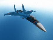 Su-35 洋上迷彩