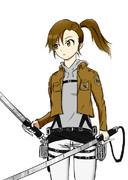 【im@s×進撃の巨人】 マミ・レオンハート