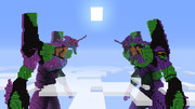 【minecraft】EVA初号機